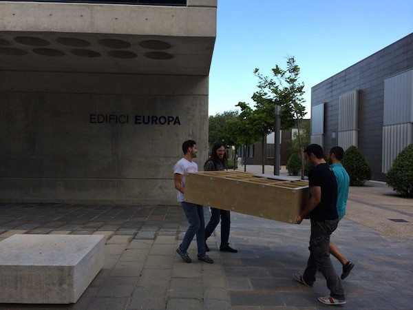 Team moving to the new offices